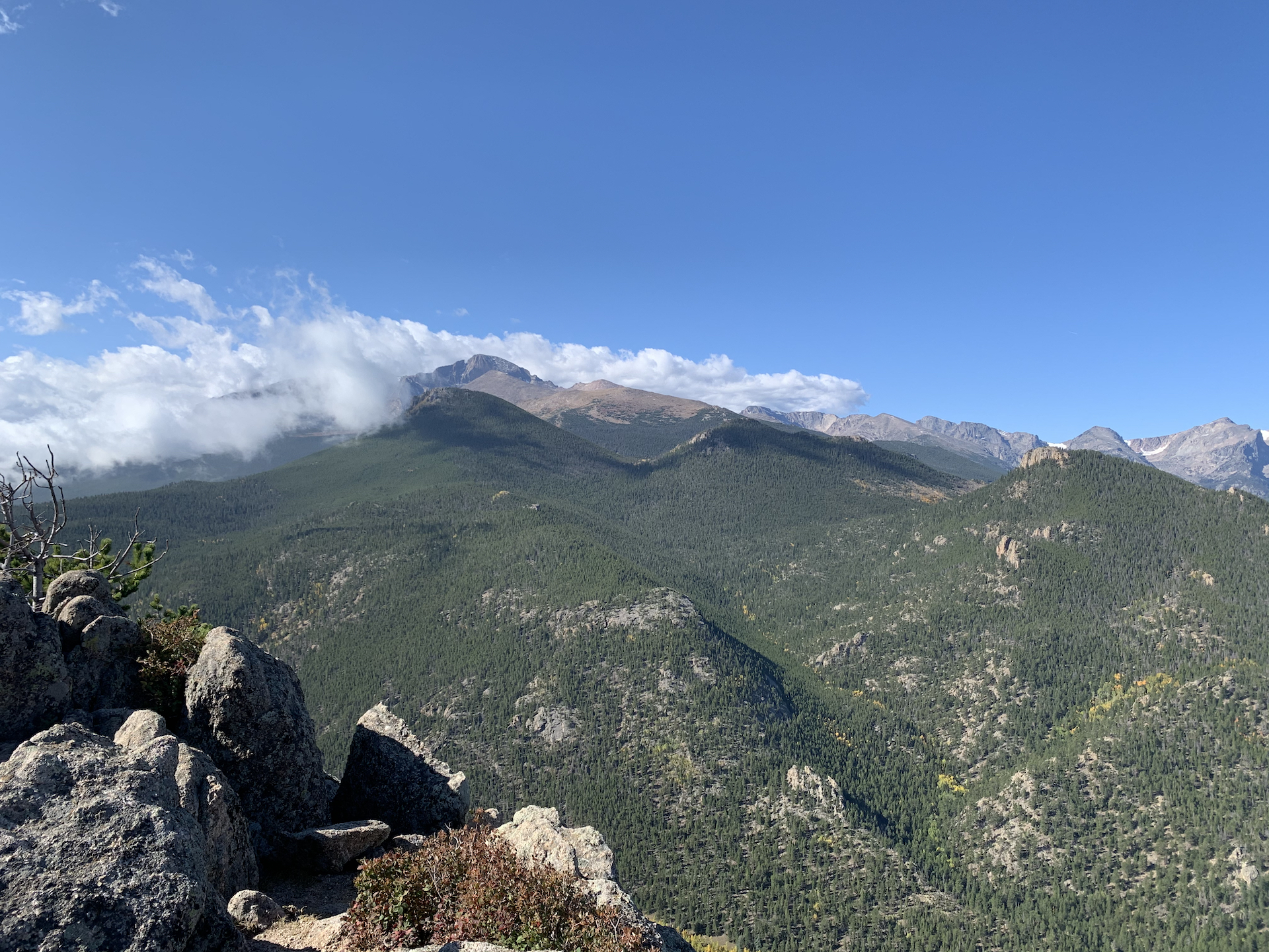 Longs Peak from Lily Mountain, Estes Park, CO